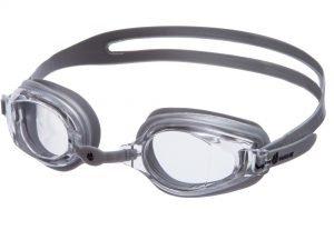 Очки для плавания MadWave STALKER (поликарбонат, силикон, цвета в ассортименте) - Цвет Серебро