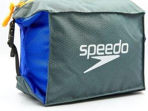 Сумка для бассейна SPEEDO POOL SIDE BAG (полиэстер, V-5л, серый-синий)