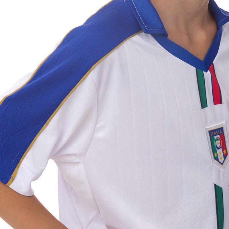 Форма футбольная детская ITALY гостевая 2016 Sport ( (PL, р-р S-XL, рост 125-165см, белый-синий)