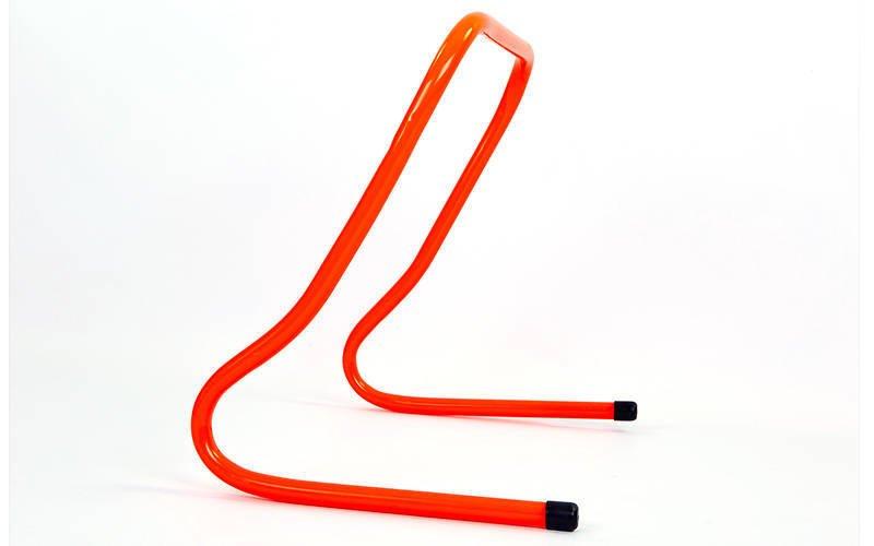 Барьер беговой (1шт) (пластик, р-р 40x46x30см, оранжевый)