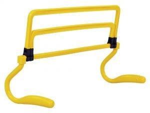 Барьер регулируемый универсальный (1шт) (пластик, р-р 15-33x46x30см, цвета в ассортименте) - Цвет Желтый