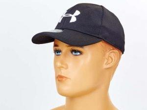 Бейсболка тактическая Under Armour (полиэстер, размер регулируемый, цвета в ассортименте) - Цвет Черный