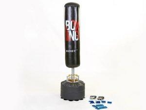 Мешок боксерский напольный водоналивной BOXING (верх-резина, р-р 170смx26см (29смx50см))