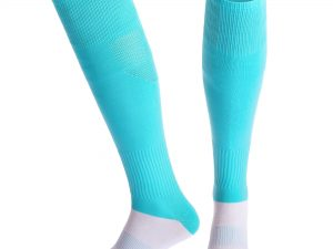 Гетры футбольные мужские (нейлон, хлопок 92гр, размер 40-45, цвета в ассортименте) - Цвет Голубой