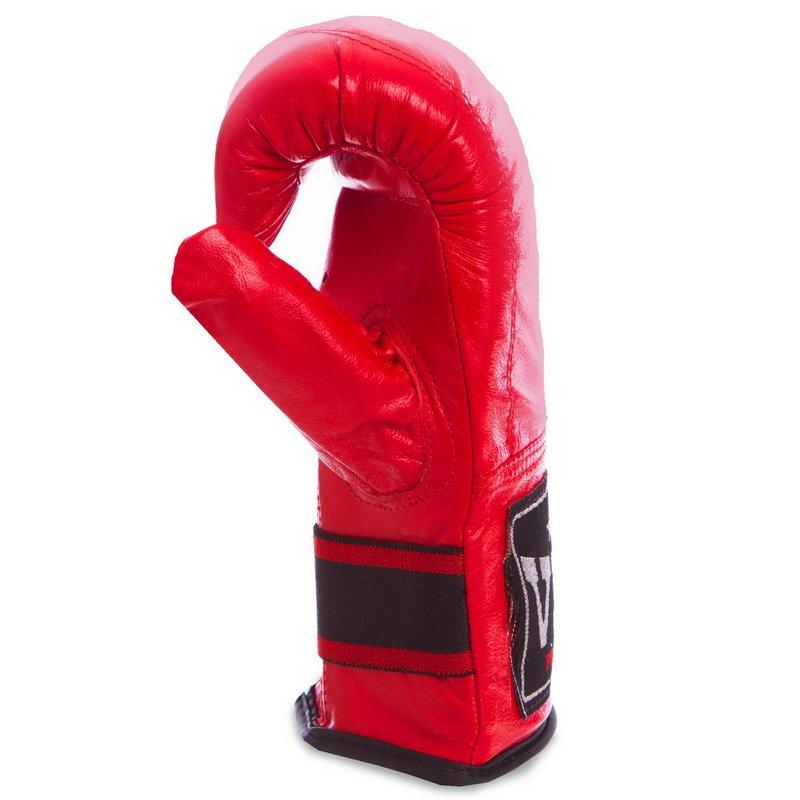 Снарядные перчатки Кожа VELO (р-р S-XL, цвета в ассортименте)