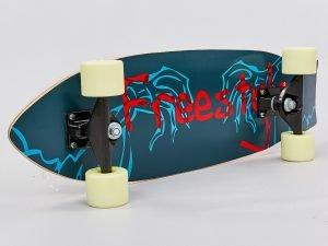 Скейтборд в сборе (роликовая доска) (колесо-PU, р-р деки 68х21х1,2см, цвета в ассортименте)