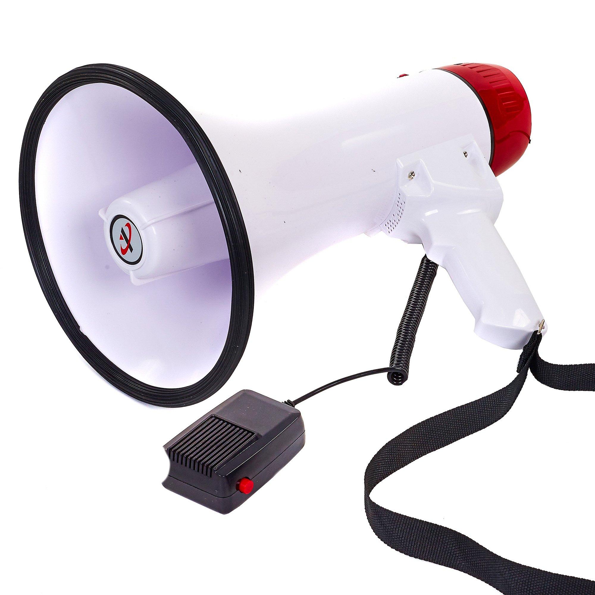 Мегафоны, громкоговорители