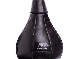 Груша набивная Каплевидная подвесная SPORTKO UR (кожа, нап.-древ.опилки,d-24см l-50см,вес-5кг)