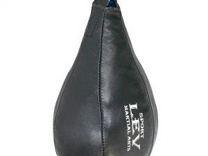 Груша набивная Каплевидная подвесная LEV UR (кожа, наполн.-ветошь, d-20см, l-34см, вес-3кг)