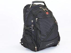 Рюкзак городской VICTOR (PL, р-р 47x32x24см, черный)