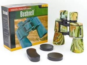 Бинокль BUSHNELL 20х50 (пластик, стекло, PVC-чехол) Replika