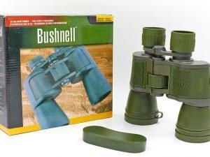 Бинокль BUSHNELL 20х50 (пластик, стекло, PVC-чехол), (750WD, 7х50) Replika
