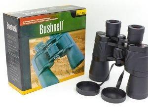 Бинокль BUSHNELL 50х50 (пластик, стекло, PVC-чехол) Replika