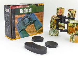 Бинокль BUSHNELL 8х40 (пластик, стекло, PVC-чехол) Replika