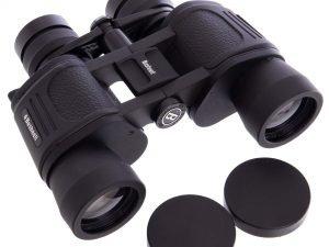 Бинокль BUSHNELL zoom 10-20х40 (пластик, стекло, PVC-чехол) Replika
