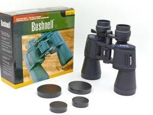 Бинокль BUSHNELL zoom 10-70х70 (пластик, стекло, PVC-чехол) AXT1116 Replika