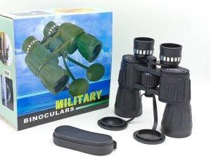 Бинокль COMET 10х50 MILITARY-2 (пластик, стекло,PVC-чехол,h х l-17см х19см), (TY-50CT,10х50)