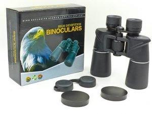 Бинокль COMET 20х50 (пластик, стекло, PVC-чехол, h х l-18см х 19,5см) (AX14, 7х50)
