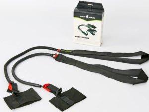 Толчковый тренажер для плавания MadWave KICK TRAINER SHORT (латекс, нейлон, PP, сопротивление от 2,2 до 14,1 кг) - Черный-красный-5,4-14,1 кг