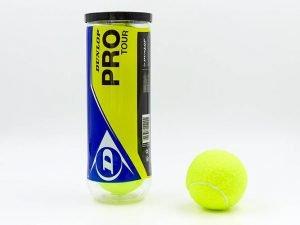 Мяч для большого тенниса DUNLOP (3шт) PRO TOUR 3B (в вакуумной упаковке)