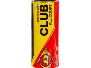 Мяч для большого тенниса DUNLOP (3шт) CLUB ALL COURT (в вакуумной упаковке)