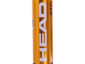 Мяч для большого тенниса HEAD (4шт) ATP METAL CAN (в вакуумной упаковке)