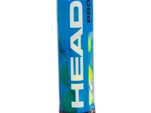 Мяч для большого тенниса HEAD (4шт) PRO (в вакуумной упаковке)