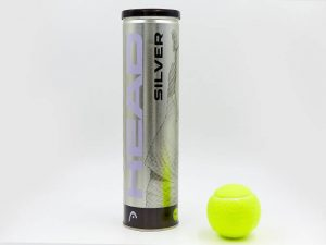 Мяч для большого тенниса HEAD (4шт) SILVER METAL CAN (в вакуумной упаковке)