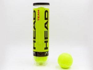 Мяч для большого тенниса HEAD (4шт) TEAM (в вакуумной упаковке)
