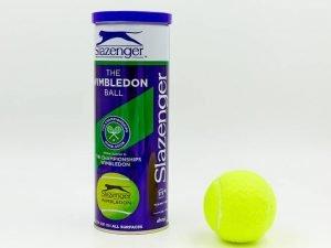 Мяч для большого тенниса SLAZENGER (3шт) WIMBLEDON (в вакуумной упаковке)