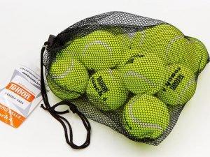 Мяч для большого тенниса TELOON (12шт) COACH 4 (в сетчатом мешке)