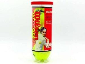 Мяч для большого тенниса WILS (3шт) CHAMPIONSHIP (в вакуумной упаковке)