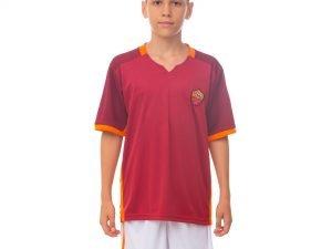 Форма футбольная детская ROMA домашняя 2016 Sport (PL, р-р XS-XL, рост 116-165см, красный-белый) - L-28, рост 145-155