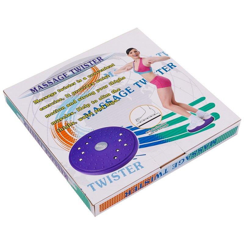 Диск здоровья массажный с магнитами Грация Pro Supra TWISTER (пластик, толщина-2,5см d-25см)