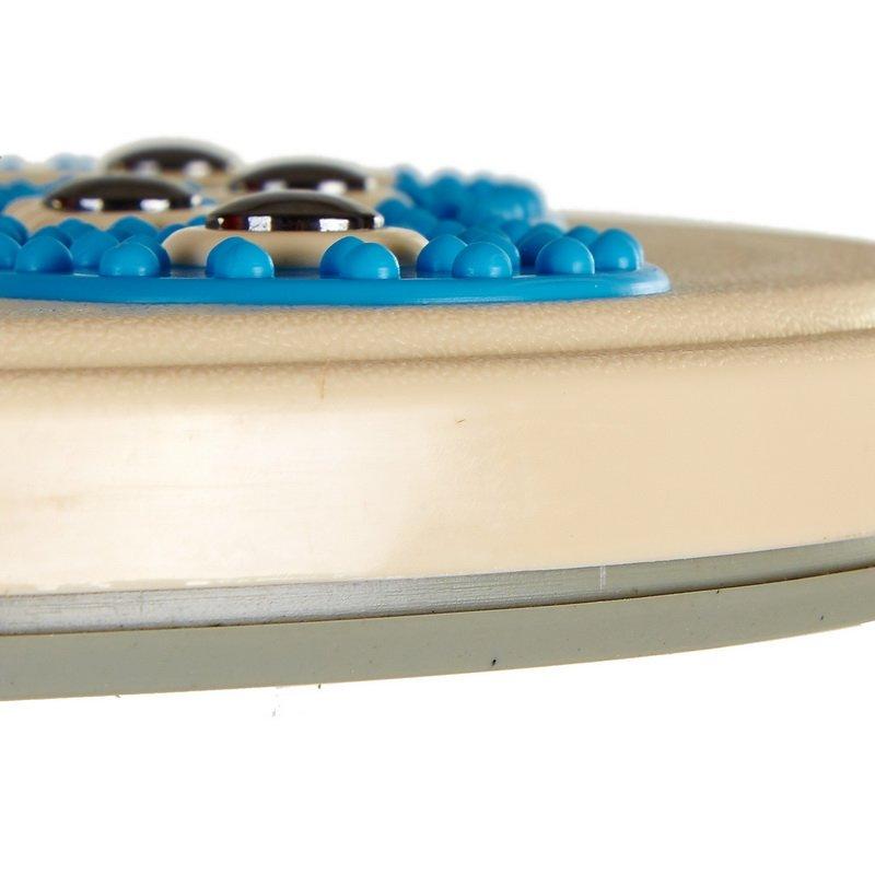 Диск здоровья с массажером рефлекторных зон на стопах Pro Supra (пластик, толщина-2,7см d-28см)
