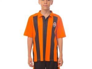 Форма футбольная детская ШАХТЕР домашняя 2017 Sport (PL, р-р XS-XL, рост 116-165см, оранжевый) - XS-22, рост 116