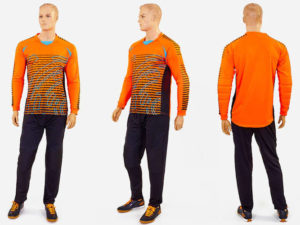 Форма футбольного вратаря (PL, р-р L-XXXL, оранжевый) - 2XL (52-54)