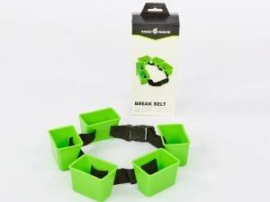 Пояс тормозной для плавания MadWave BREAK BELT (поликарбонат, нейлон, зеленый)