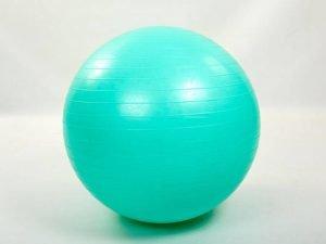 Мяч для фитнеса (фитбол) гладкий глянцевый 85см Zelart (PVC, 1200г, цвета в ассортименте, ABS технолог) - Цвет Мятный