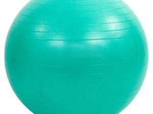 Мяч для фитнеса (фитбол) гладкий сатин 65см Zelart (PVC,800г, цвета в ассортименте, ABS технология) - Цвет Мятный