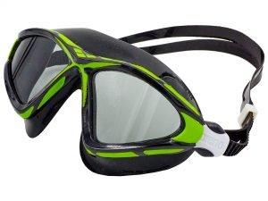 Очки-полумаска для плавания ARENA X-SIGHT 2 (поликарбонат, термопластичная резина, силикон, цвета в ассортименте) - Цвет Зеленый