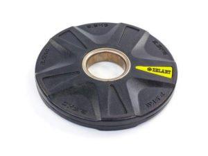Блины (диски) полиуретановые 5 отверстий с металлической втулкой d-51мм TA-5335- 2,5 2,5кг (черный)