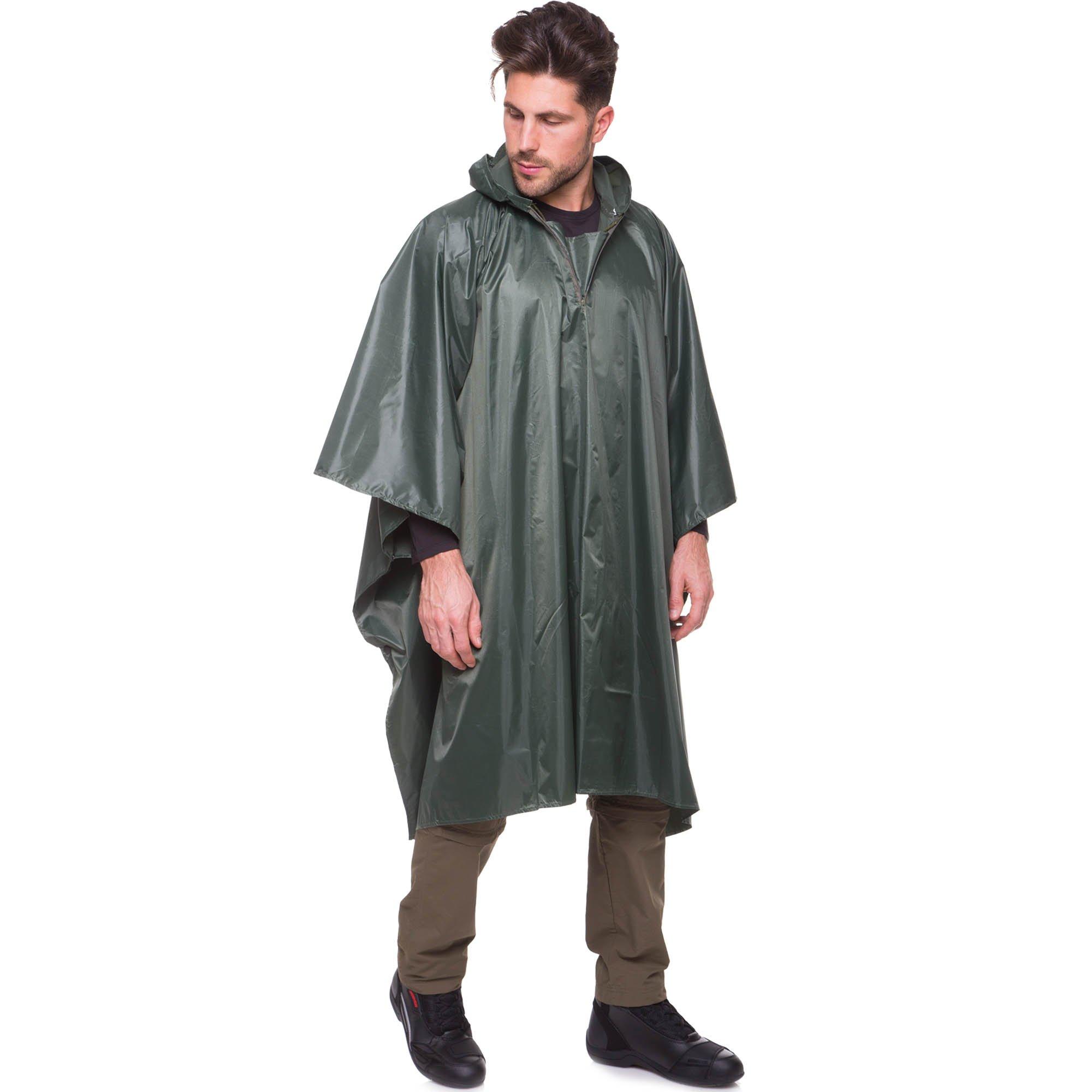 Дождевики, пончо, плащ-палатки