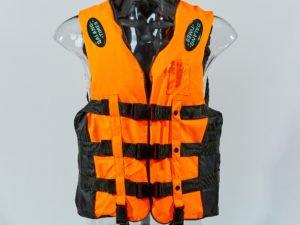 Жилет спасательный взрослый (EVA, ремни-PL, р-р M-3XL, цвета в ассортименте ) - M