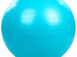 Мяч для фитнеса (фитбол) гладкий сатин 85см Zelart (PVC, 1200г, цвета в ассортименте, ABS технолог) - Цвет Голубой