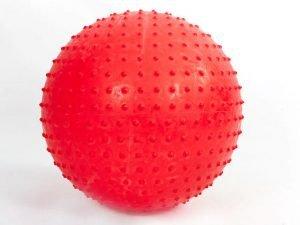 Мяч для фитнеса (фитбол) массажный 75см PS (PVC, 1350г, цвета в ассор ,ABS технология)