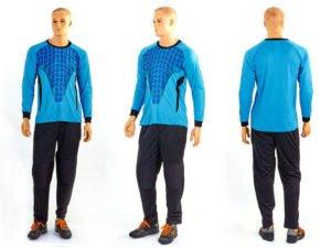Форма футбольного вратаря (PL, р-р L-XL, голубой) - L (48-50)