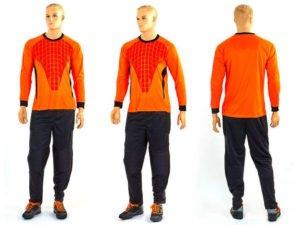 Форма футбольного вратаря (PL, р-р L-XL, оранжевый) - L (48-50)