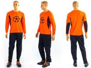 Форма футбольного вратаря GOAL 026 (PL, р-р L-XXL, оранжевый) - 2XL (52-54)