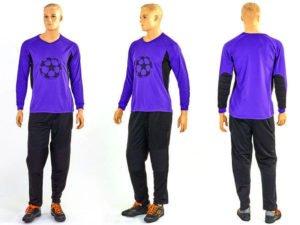 Форма футбольного вратаря GOAL 026 (PL, р-р L-XXL, фиолетовый) - 2XL (52-54)